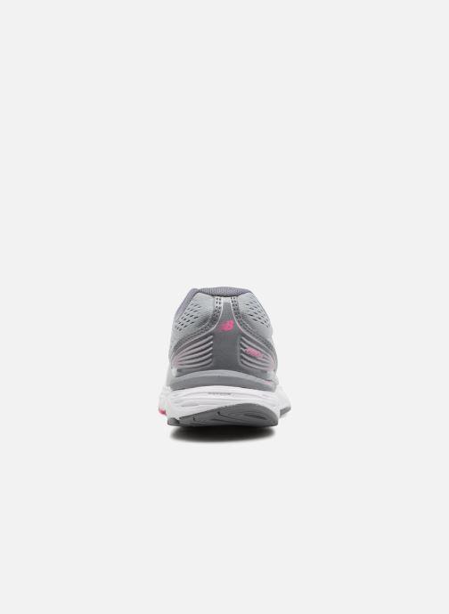Zapatillas de deporte New Balance W680L Gris vista lateral derecha