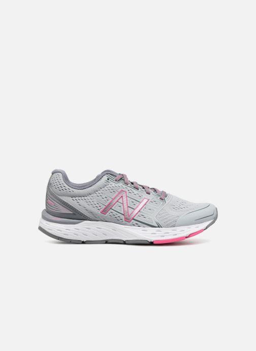 Chaussures de sport New Balance W680L Gris vue derrière