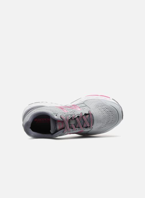 Zapatillas de deporte New Balance W680L Gris vista lateral izquierda