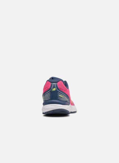 Chaussures de sport New Balance W680L Rose vue droite