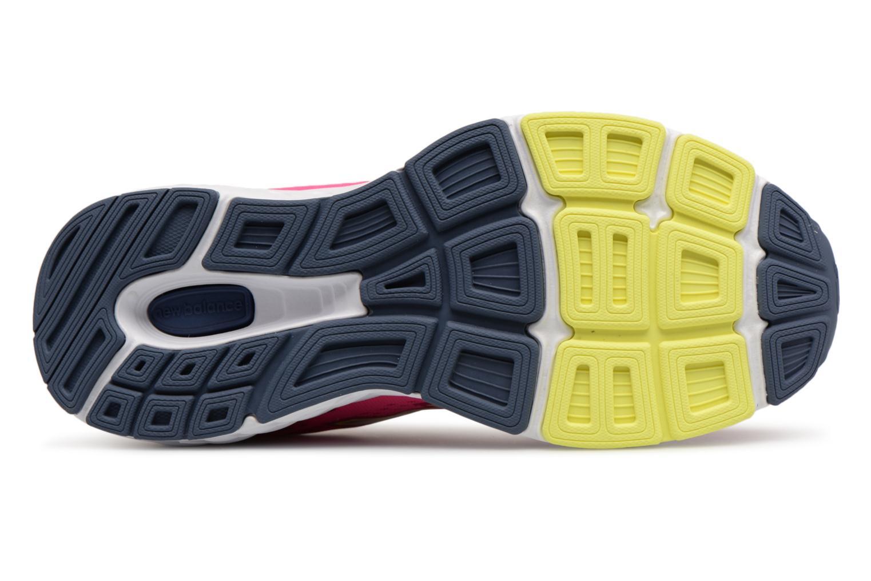 Chaussures de sport New Balance W680L Rose vue haut