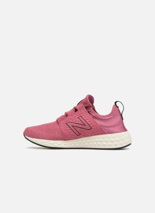 Sport shoes New Balance WCRUZ PE18 Pink front view