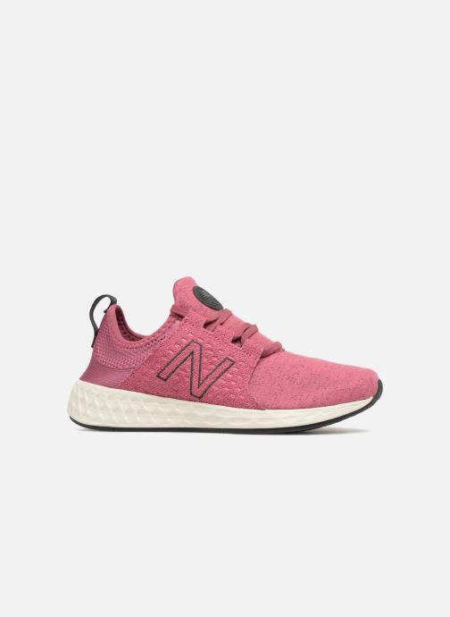 Sport shoes New Balance WCRUZ PE18 Pink back view