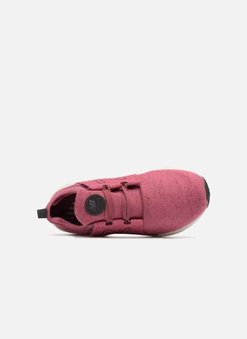 Sport shoes New Balance WCRUZ PE18 Pink view from the left