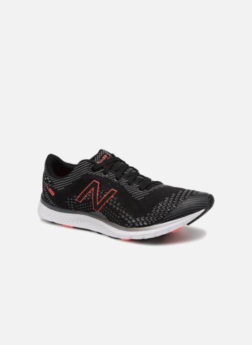 Sport shoes New Balance Wxaglbc2 Black detailed view/ Pair view