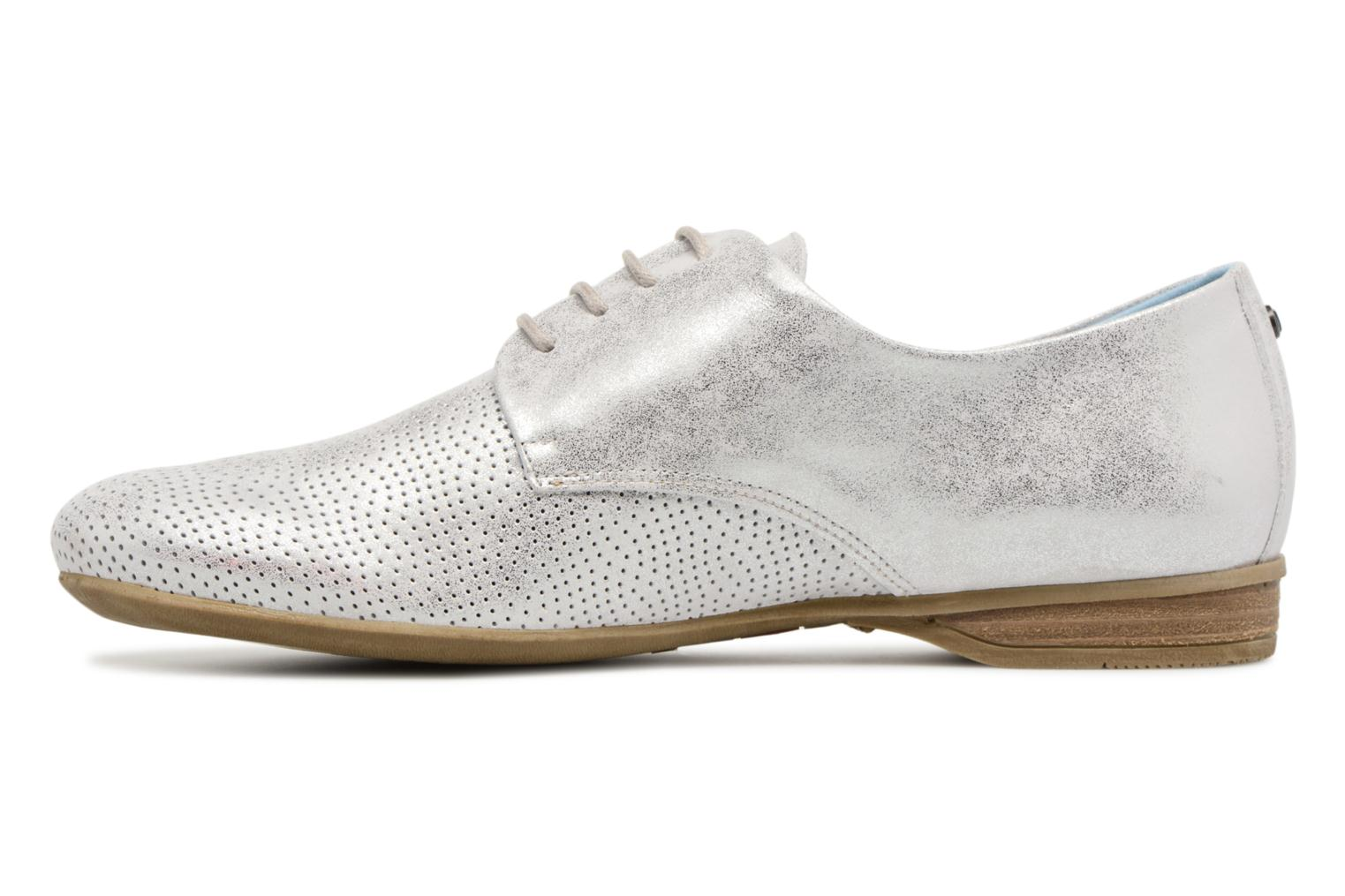 Lace-up shoes Dorking Candy 7400 Grey front view
