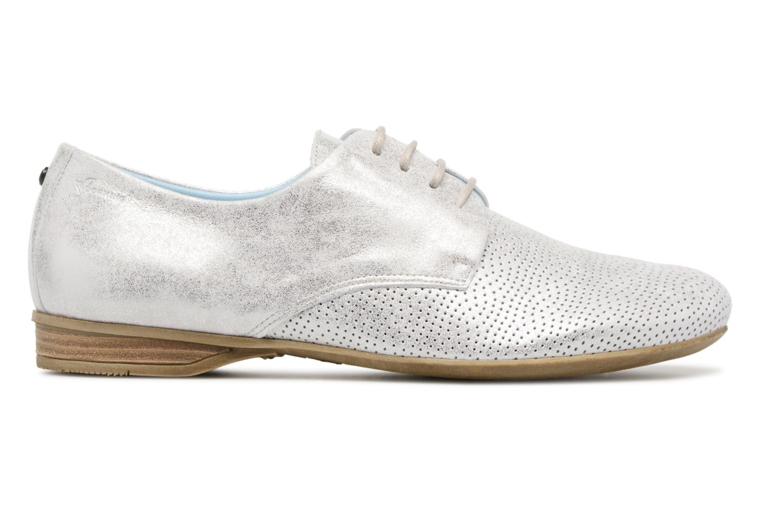 Lace-up shoes Dorking Candy 7400 Grey back view