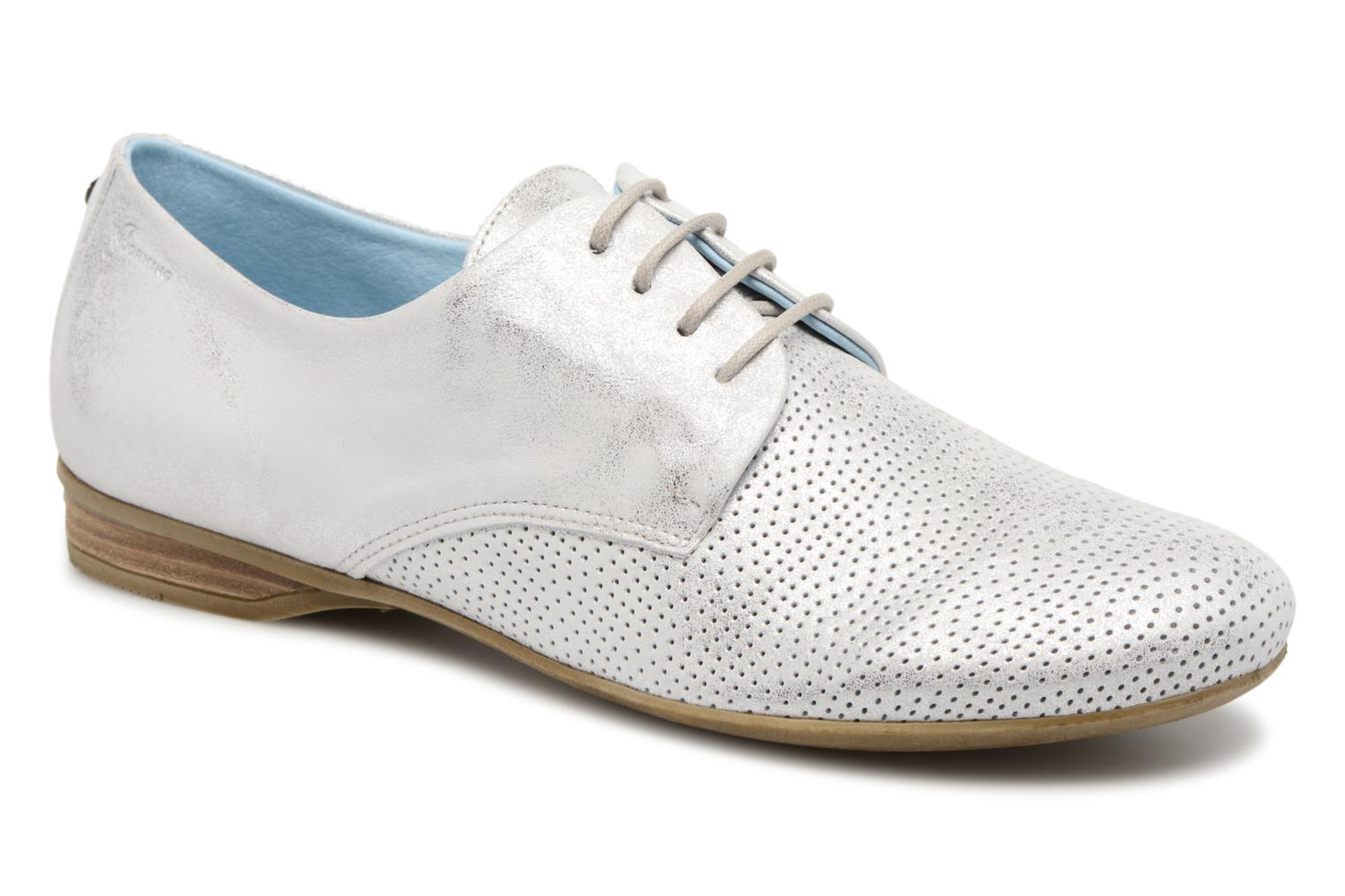 Lace-up shoes Dorking Candy 7400 Grey detailed view/ Pair view
