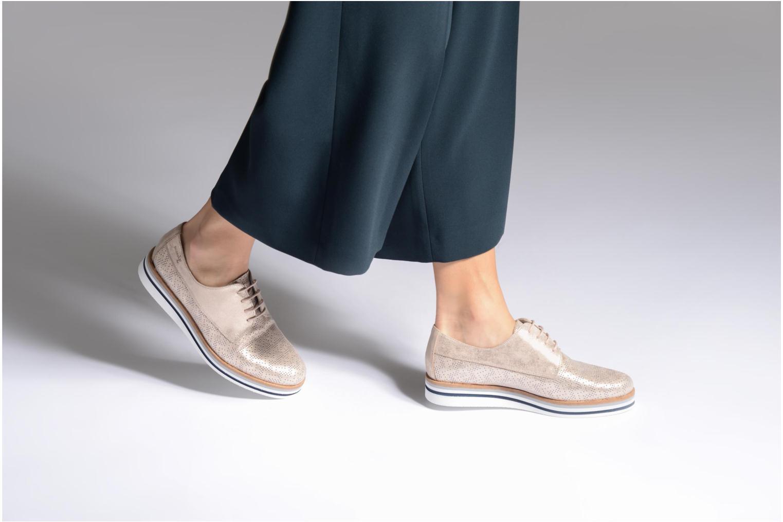 Chaussures à lacets Dorking Romy 7512 Argent vue bas / vue portée sac