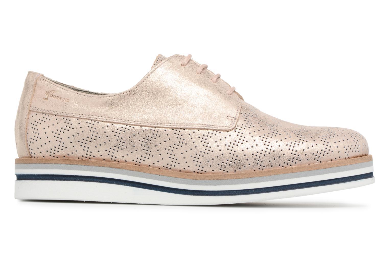 Chaussures à lacets Dorking Romy 7512 Argent vue derrière