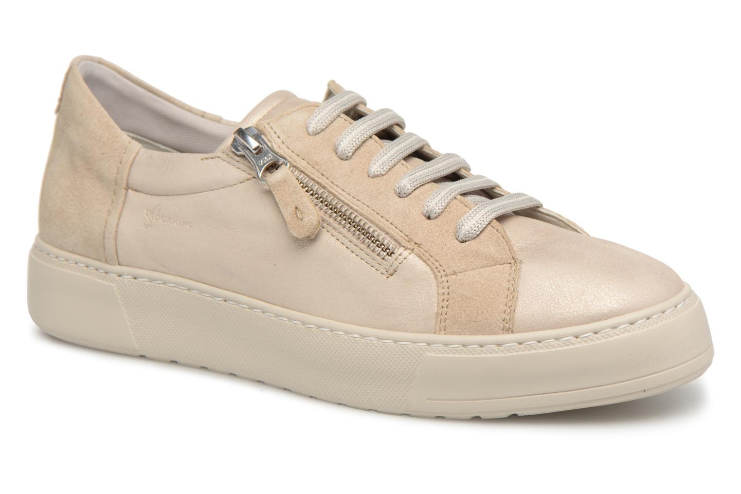 Trainers Dorking Bombay 7524 Beige detailed view/ Pair view