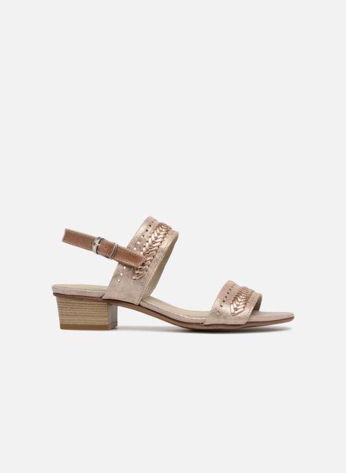Sandales et nu-pieds Dorking Lovi 7533 Or et bronze vue derrière