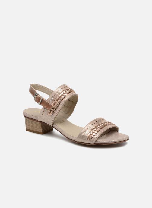 Sandales et nu-pieds Dorking Lovi 7533 Or et bronze vue détail/paire