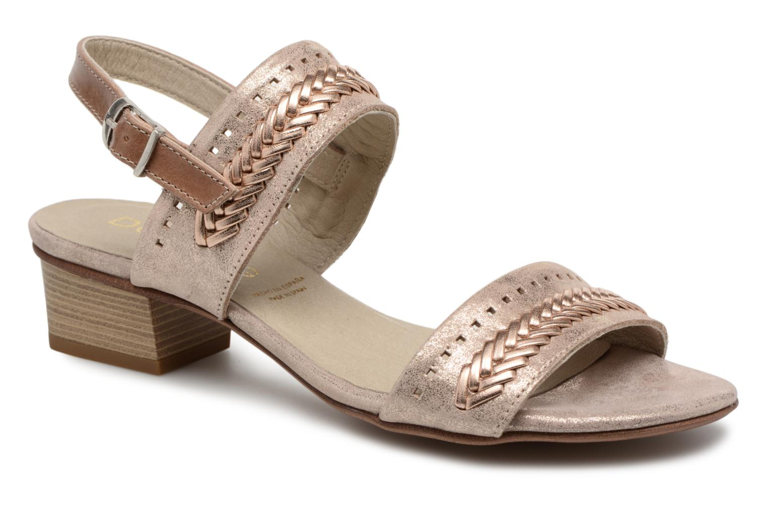 Sandals Dorking Lovi 7533 Bronze and Gold detailed view/ Pair view