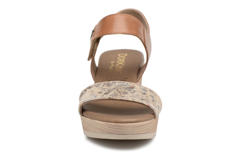 Sandales et nu-pieds Dorking Babor 7141 Marron vue portées chaussures