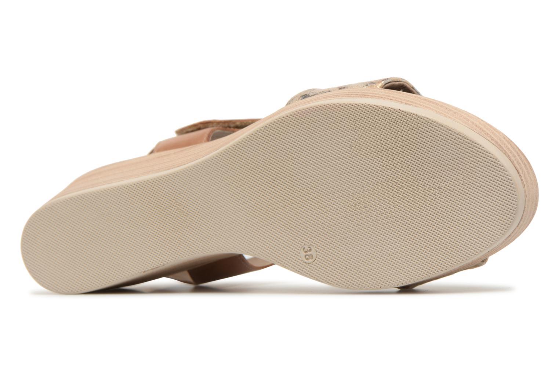 Sandales et nu-pieds Dorking Babor 7141 Marron vue haut