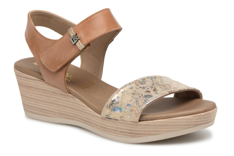 Sandales et nu-pieds Dorking Babor 7141 Marron vue détail/paire