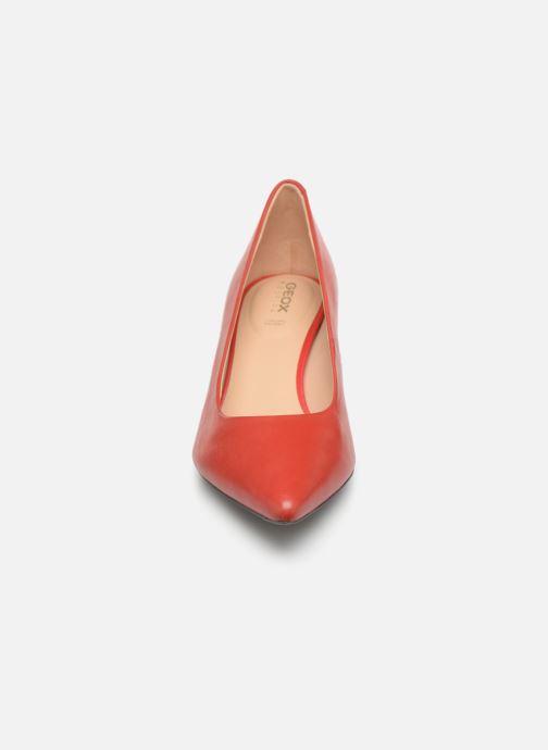 Escarpins Geox D BIBBIANA A D829CA Rouge vue portées chaussures