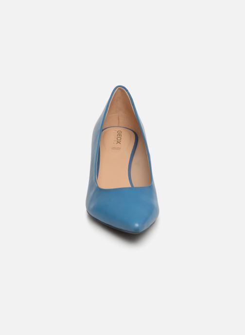Escarpins Geox D BIBBIANA A D829CA Bleu vue portées chaussures