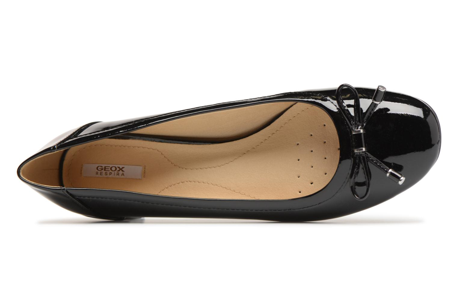 Ballet pumps Geox D CAREY D D82V8D Black view from the left