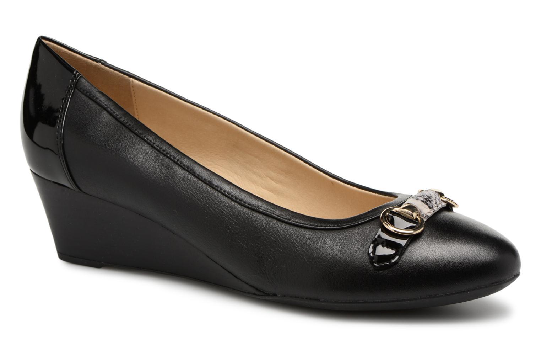 Geox D FLORALIE C D82T4C (Noir) - Ballerines en Más cómodo Nouvelles chaussures pour hommes et femmes, remise limitée dans le temps