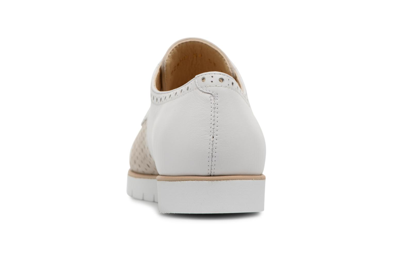 Chaussures à lacets Geox D KOOKEAN D D824PD Beige vue droite