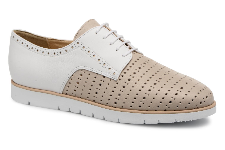 Chaussures à lacets Geox D KOOKEAN D D824PD Beige vue détail/paire
