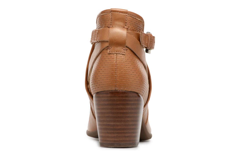Bottines et boots Geox D LUCINDA B D8270B Marron vue droite