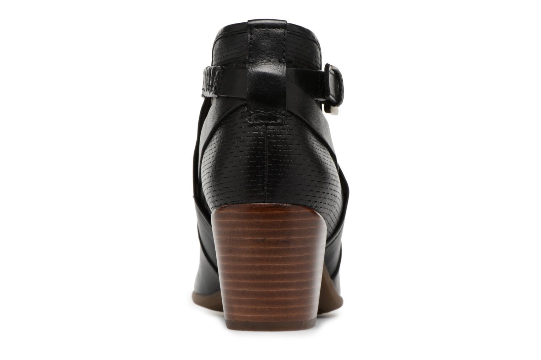 Bottines et boots Geox D LUCINDA B D8270B Noir vue droite