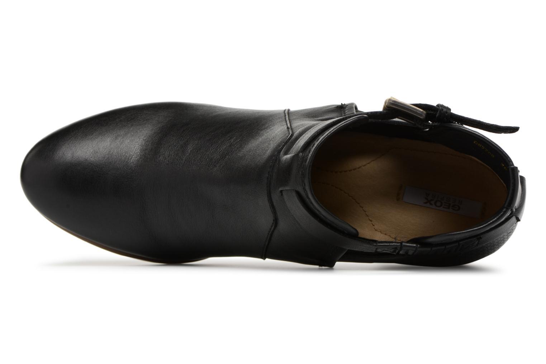 Bottines et boots Geox D LUCINDA B D8270B Noir vue gauche