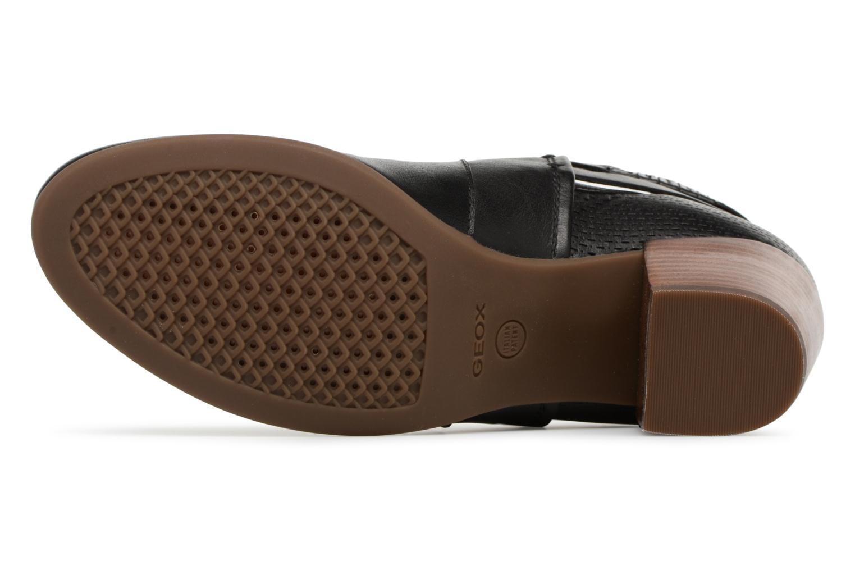 Bottines et boots Geox D LUCINDA B D8270B Noir vue haut