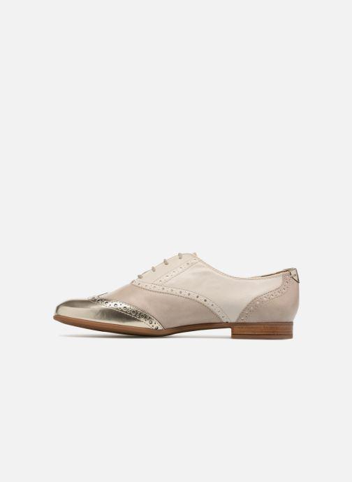 Chaussures à lacets Geox D MARLYNA C D828PC Beige vue face