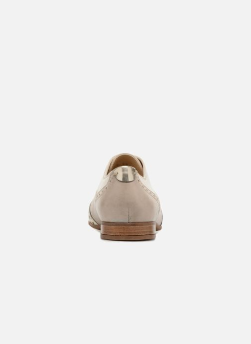Chaussures à lacets Geox D MARLYNA C D828PC Beige vue droite