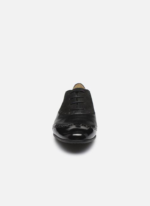 Chaussures à lacets Geox D MARLYNA C D828PC Noir vue portées chaussures