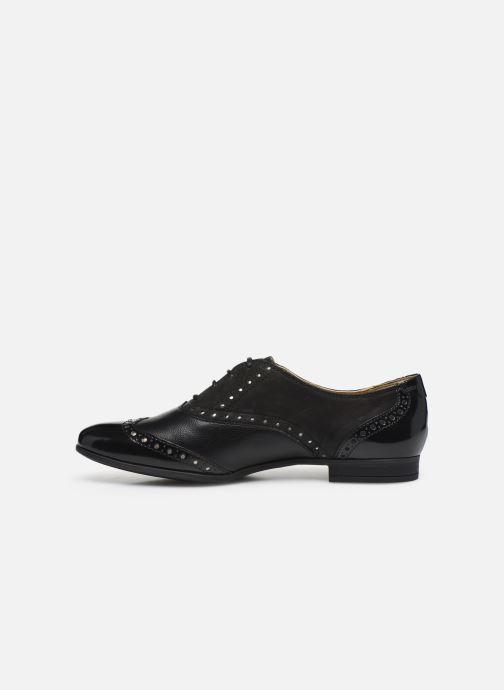 Chaussures à lacets Geox D MARLYNA C D828PC Noir vue face