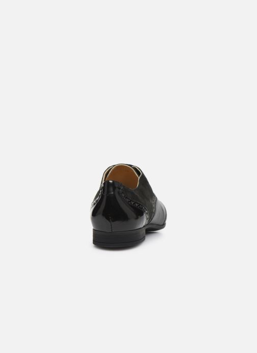 Chaussures à lacets Geox D MARLYNA C D828PC Noir vue droite