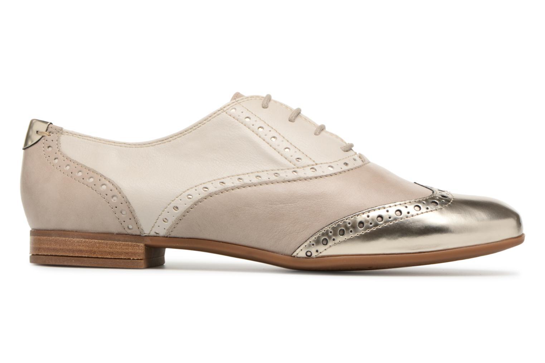 Chaussures à lacets Geox D MARLYNA C D828PC Beige vue derrière