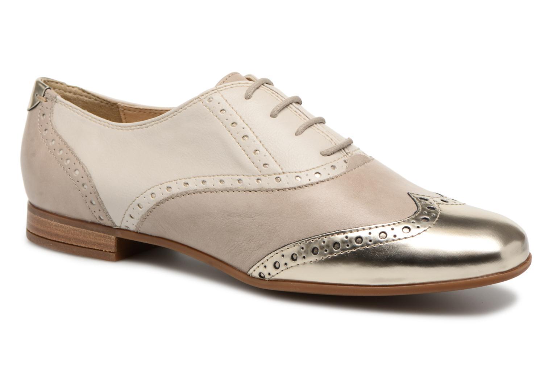 Chaussures à lacets Geox D MARLYNA C D828PC Beige vue détail/paire