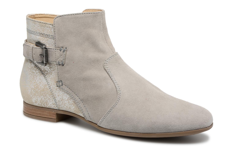 Bottines et boots Geox D MARLYNA G D828PG Gris vue détail/paire