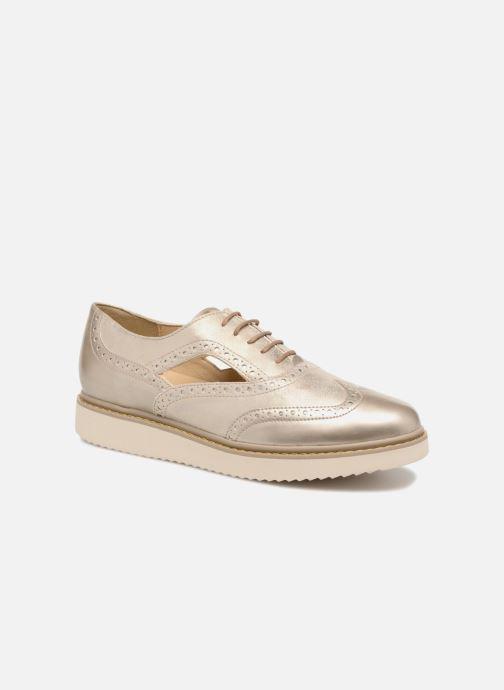 Chaussures à lacets Geox D THYMAR A D824BA Or et bronze vue détail/paire