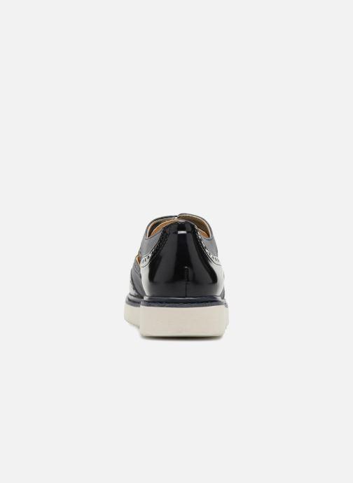 Zapatos con cordones Geox D THYMAR A D824BA Azul vista lateral derecha