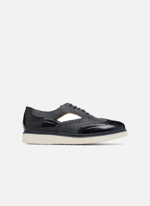 Zapatos con cordones Geox D THYMAR A D824BA Azul vistra trasera