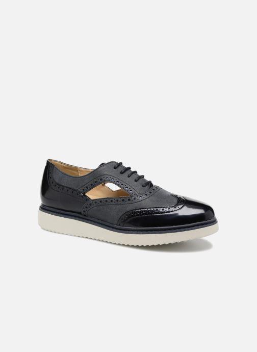 Zapatos con cordones Geox D THYMAR A D824BA Azul vista de detalle / par