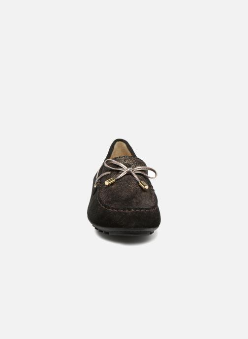 Mocassins Geox D LEELYAN A D724RA O Noir vue portées chaussures