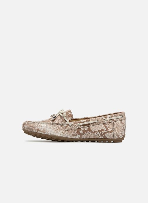 Loafers Geox D LEELYAN A D724RA O Beige se forfra