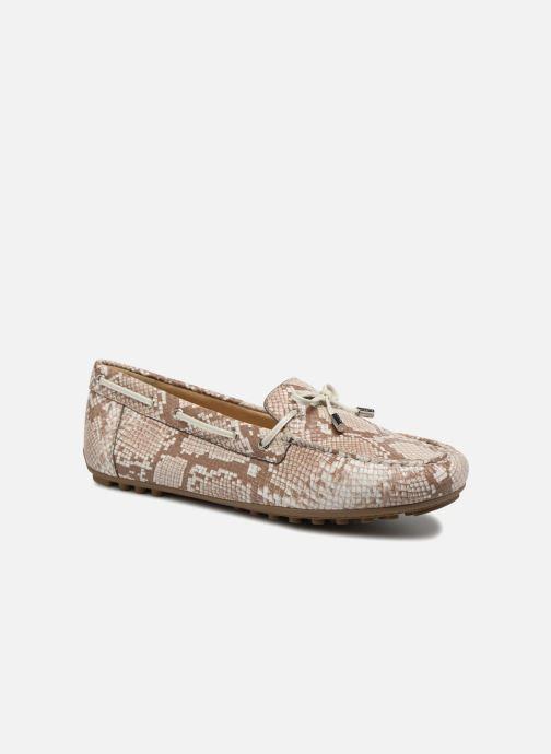 Loafers Geox D LEELYAN A D724RA O Beige detaljeret billede af skoene