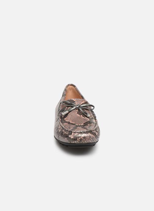 Mocassins Geox D LEELYAN A D724RA O Rose vue portées chaussures