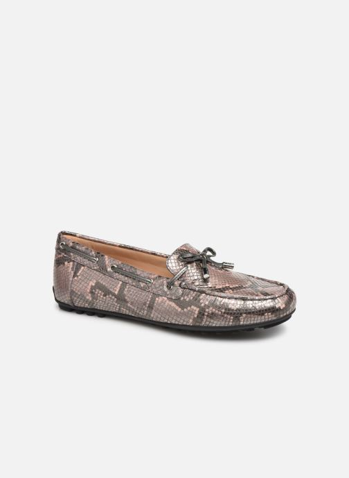 Loafers Geox D LEELYAN A D724RA O Pink detailed view/ Pair view