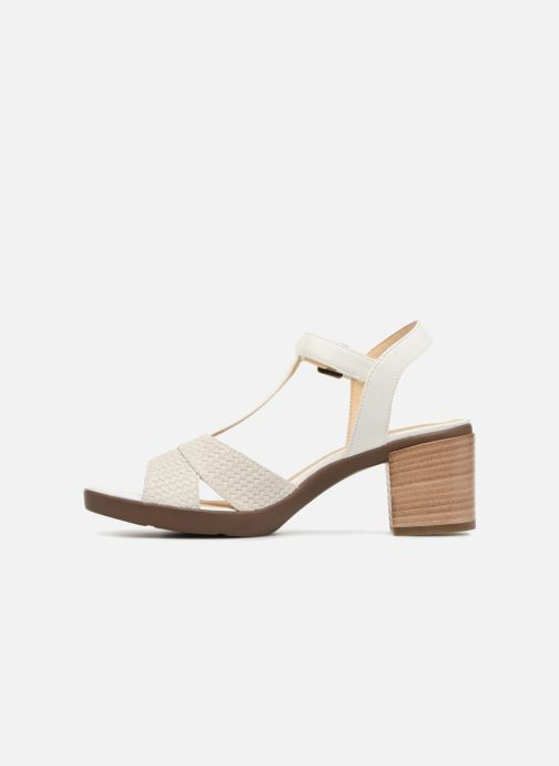 Geox D ANNYA M.S.B D827XB (White) Sandals chez Sarenza