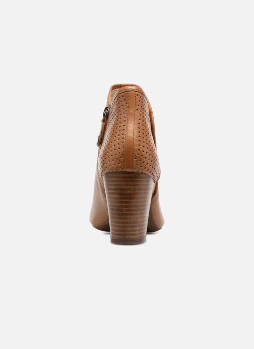 Boots en enkellaarsjes Geox D EUDORA G D828ZG Bruin rechts